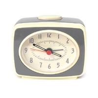 Small Classic Alarm Clock - Grey