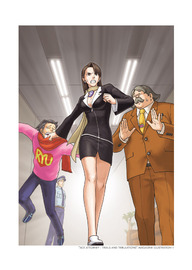 The Art of Phoenix Wright: Ace Attorney by Capcom