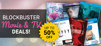 Blockbuster Movie & TV Deals! Up to 50% off!
