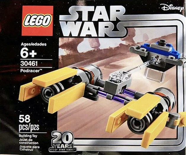 LEGO Star Wars - 20th Anniversary Pod Racer (30461)