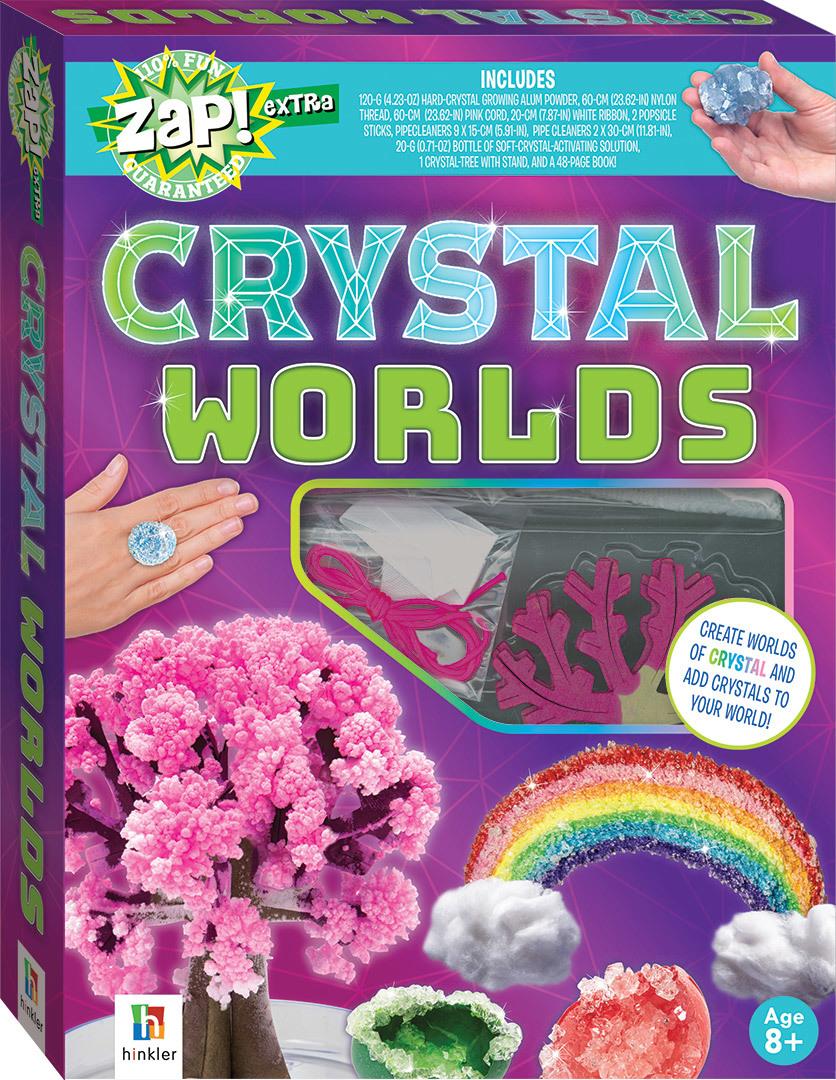 ZAP! Extra: Crystal Worlds - Activity Set image