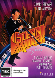 The Glenn Miller Story on DVD