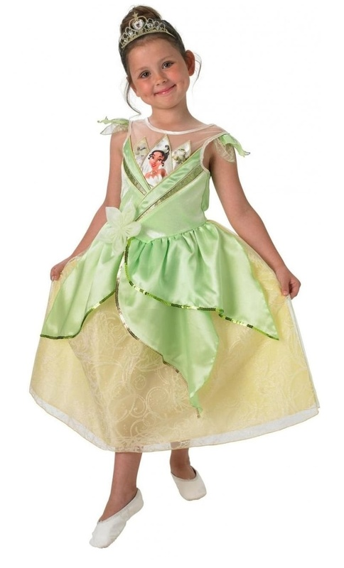 Disney: Kids Princess Tiana - Shimmer Dress | Toy | at Mighty Ape