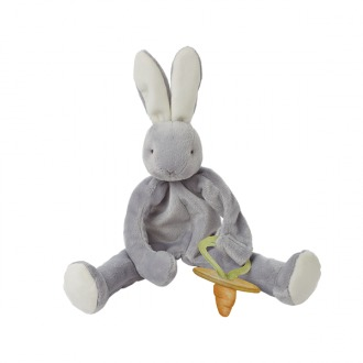 Bunnies By The Bay: Silly Buddy Grady Bunny - Grey (28 cm)