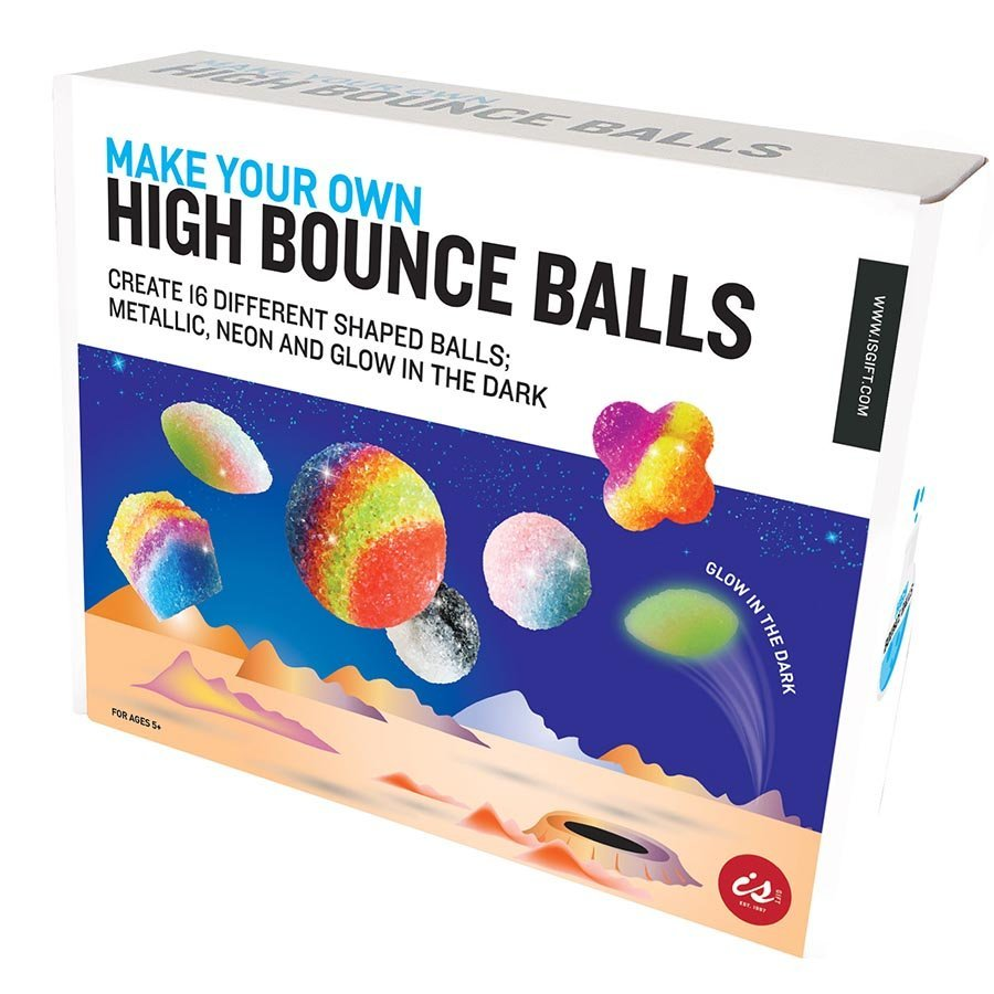 Sci-Play: Make Your Own - High Bounce Ball Box Set image