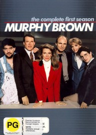 Murphy Brown: The Complete First Season  (4 Disc) on DVD image