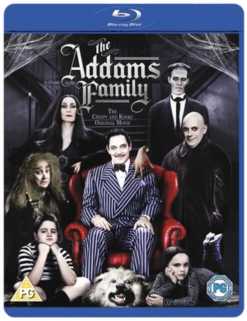The Addams Family on Blu-ray