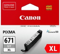 Canon CLI-671XLGY Grey High Yield Ink Cartridge
