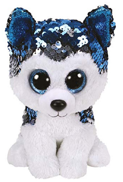 Ty Flippables: Slush Husky - Small Plush