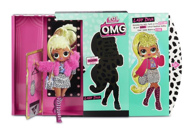 L.O.L. Surprise! O.M.G Fashion Doll - Lady Diva