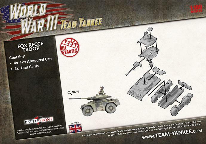 Team Yankee: Fox Recce Troop image