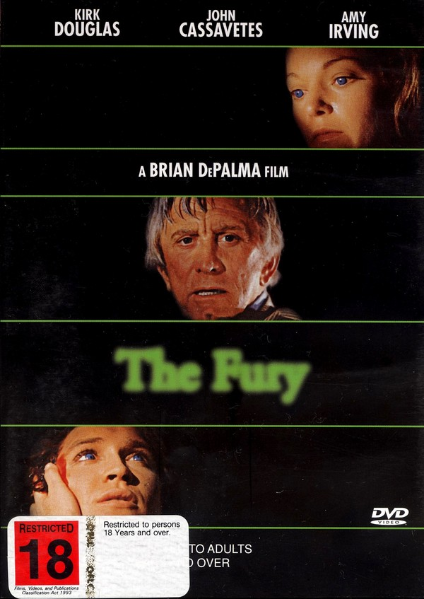 Fury (The) on DVD image