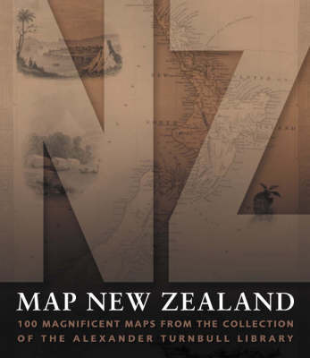 Map New Zealand by Alexander Turnball Library