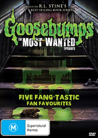 Goosebumps: Most Wanted on DVD