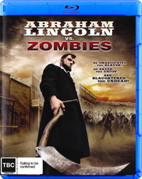 Abraham Lincoln vs Zombies on Blu-ray