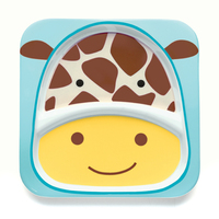Skip Hop Zoo Divided Plate - Giraffe
