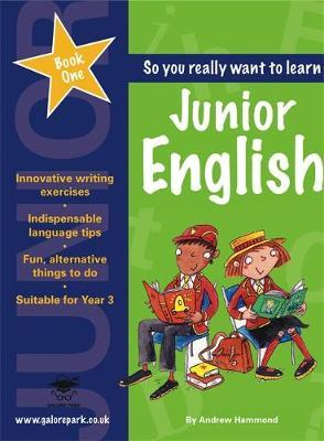 Junior English Book 1 by Andrew Hammond image