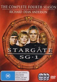 Stargate SG-1 - Season 4 (6 Disc Set) (New Packaging) on DVD