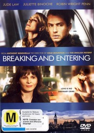 Breaking And Entering on DVD image