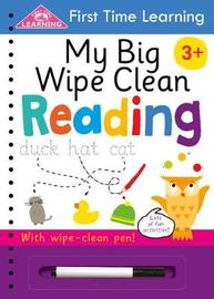 My Big Wipe Clean Reading
