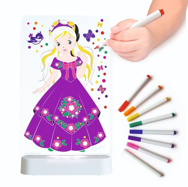 Aloka: Colour Me Lamps - Princess