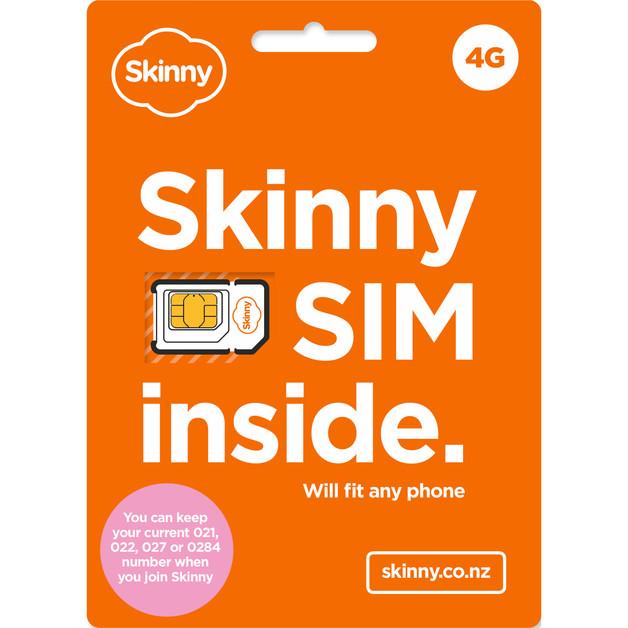 Skinny Prepaid SIM Trio 3 in 1