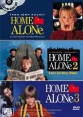 Home Alone Triple Pack (3 Disc Set) on DVD