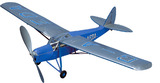 West Wings 1/18 Model Aircraft Kit - DeHavilland Puss Moth (rubber powered)