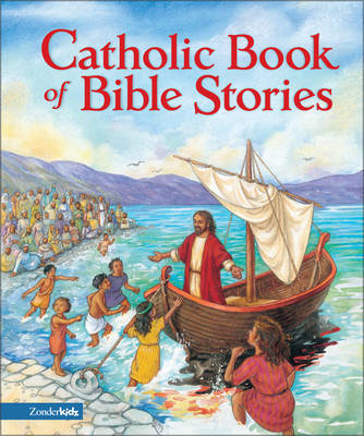 The Catholic Book of Bible Stories by Laurie Lazzaro Knowlton image