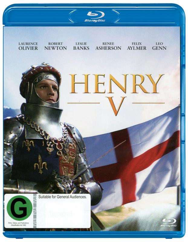 Henry V on Blu-ray
