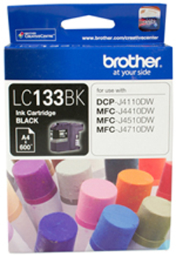 Brother LC133BK Ink Cartridge (Black)
