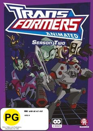 Transformers Animated - Season Two on DVD