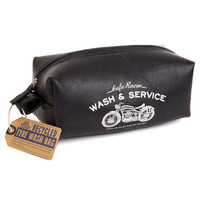 Cafe Racer Recycled Tyre Wash Bag image