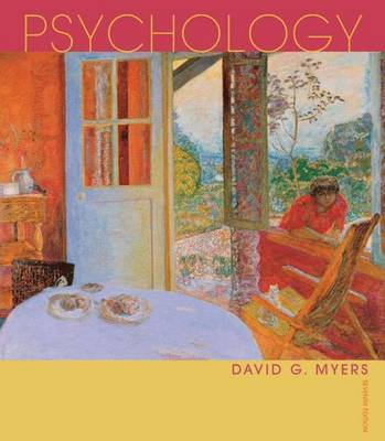 Psychology by David G Myers image