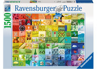 Ravensburger: 99 Colours Puzzle (1500pc)