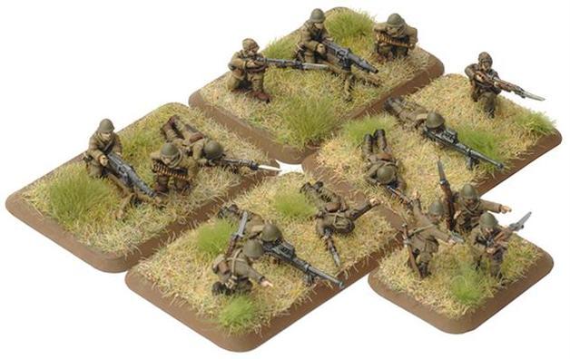 Flames of War Hohei Weapons Platoon