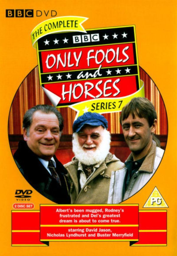 Only Fools And Horses - Complete Series 7 on DVD image