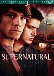 Supernatural - The Complete 3rd Season (5 Disc Set) on DVD