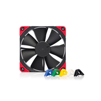 120mm Noctua NF-F12 Chromax Black Swap 4-pin PMW 1500RPM Fan