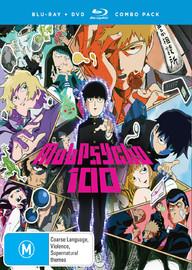 Mob Psycho 100 - Complete Season 1 on DVD, Blu-ray