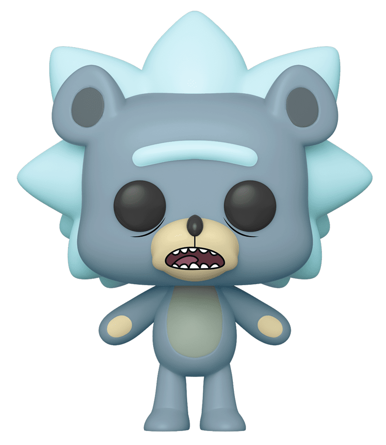 Rick & Morty - Teddy Rick Pop! Vinyl Figure (with a chance for a Chase version!) image