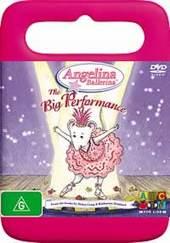 Angelina Ballerina: The Big Performance on DVD