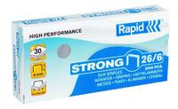 Rapid Strong 26/6 Staples 5000pcs