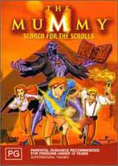 The Mummy - Vol 1 - Search For the Scrolls on DVD