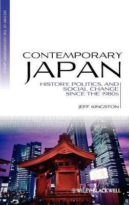 Contemporary Japan by Jeff Kingston