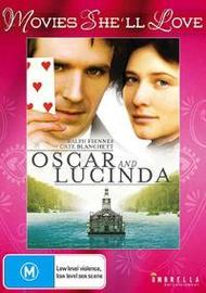 Oscar and Lucinda on DVD