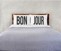 The Rise and Fall: Bon Jour Pillowcase Set