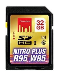 32GB Strontium NITRO Plus Series SD Card
