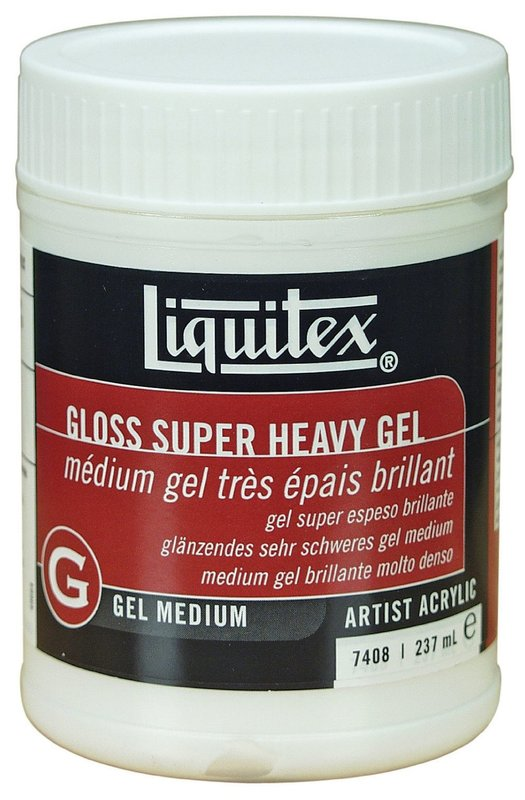 Liquitex: Gloss Super Heavy Gel - Medium (237ml)