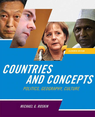Countries and Concepts: Politics, Geography, Culture by Michael G. Roskin image